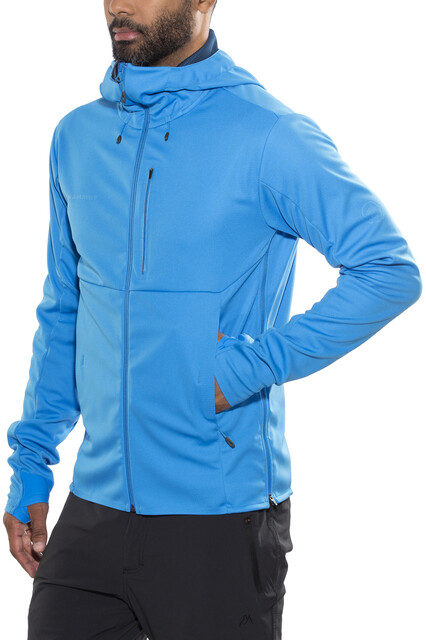 Mammut Klettergurt Jay : Mammut ultimate v so hooded jacket men imperial jay melange campz